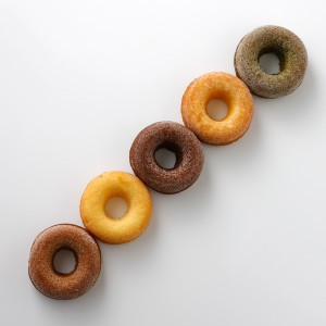 ドーナッツが5個