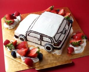 車のケーキ1