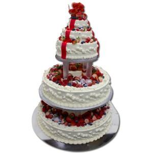 最大のウエディングケーキ
