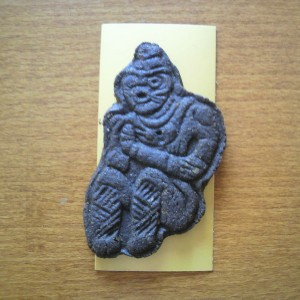 合掌土偶のクッキー