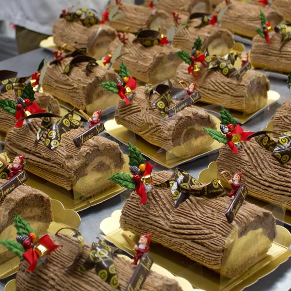 生チョコノエル(2013年のクリスマスの風景)