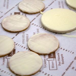 プリントプレート用のクッキー生地