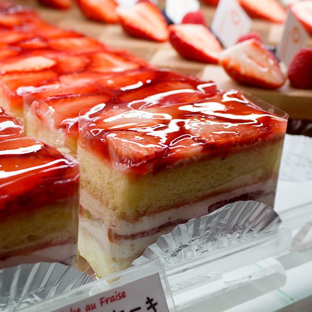赤いショートケーキ(2017年3月27日撮影)