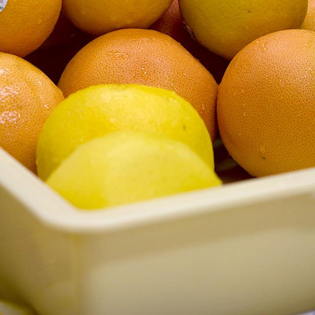 グレープフルーツとオレンジ