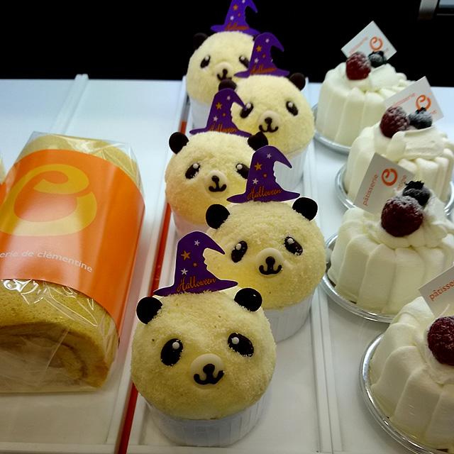【アピタ佐原東店限定】パンダのチョコレートケーキ