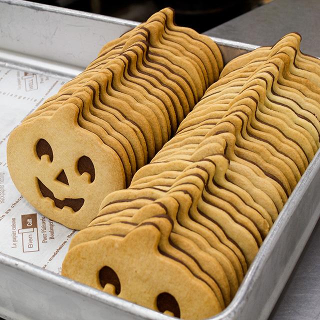 ハロウィーン限定販売のクッキー