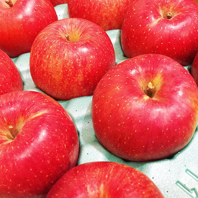 今回のタルト・タタンに使われたりんごです。