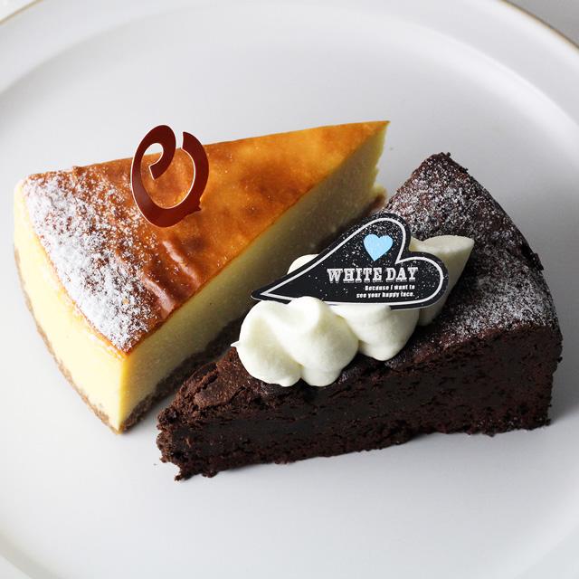 ガトーショコラ&NYチーズケーキ